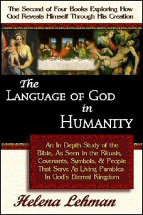Cover for 'The Language of God in Humanity' by Helena Lehman