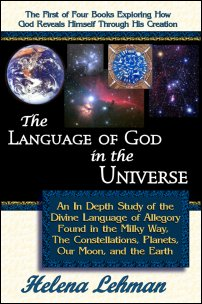 Cover for 'The Language of God in the Universe' by Helena Lehman