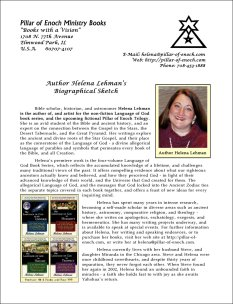 Helena Lehman - Author's Bio