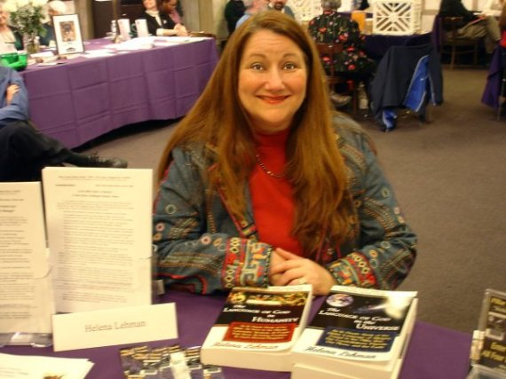 Author at IWPA Book Fair 2006